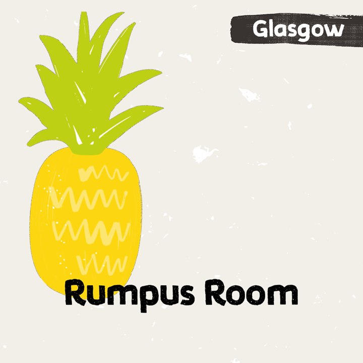illustration for Rumpus Room in Glasgow
